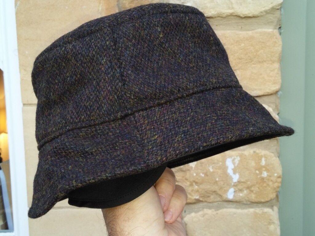 751049a2 Tilley New Harris Tweed Unisex L- XL Tuckaway Winter Hat -TTH1 - stow-able  earwarmers