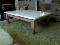 LARGE SOLID COFFEE TABLE £40