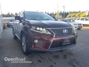 2015 Lexus RX 450h TECHNOLOGY PKG  - Clean Carproof