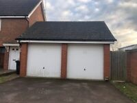 1 x DOUBLE GARAGE to rent for storage purposes
