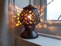 Ornamental Pottery Lamp