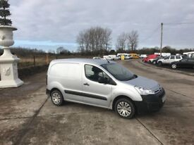 2015 SILVER CITREON BERLINGO 3 SEATER 1.6 FUL YEAR PSV