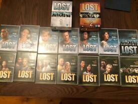 Lost- complete series 1 & 2 DVD set
