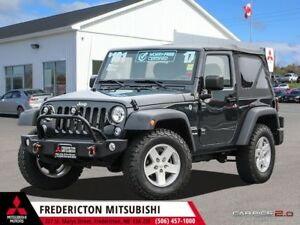 2017 Jeep Wrangler Sport REDUCED | 4X4 | 6-SPEED | SAVE $10,0...