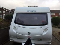Lovely lightweight Sprite Major 5 2006 with awning £6450