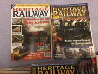 Heritage Railway Magazines No. 1 to 161 inclusive.