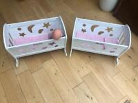 Baby Cots (two)