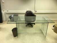NICE GLASS TABLE. Free delivery!!!