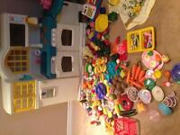 Little tikes play kitchen and loads of accessories