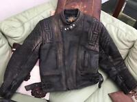 "Retro AKITO Motorbike Jacket 48"""