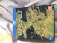 Game of Thrones s1, 2 and 3 blu-ray