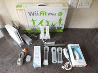 Wii Bundle - Controllers,Games & Wii Fit Plus. Rechargeable Battery Packs.Many other accessories