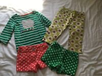 MINI BODEN Girls shorts, Jeans & top aged 4-6 years
