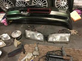 Ford Sierra front headlights