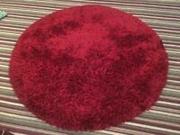 Round shaggy rug for sale