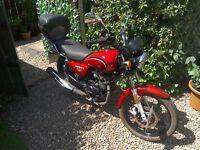 Honley HD3 125cc motorcycle