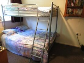 triple bunk beds with 3ft above and 4ft 6inch below