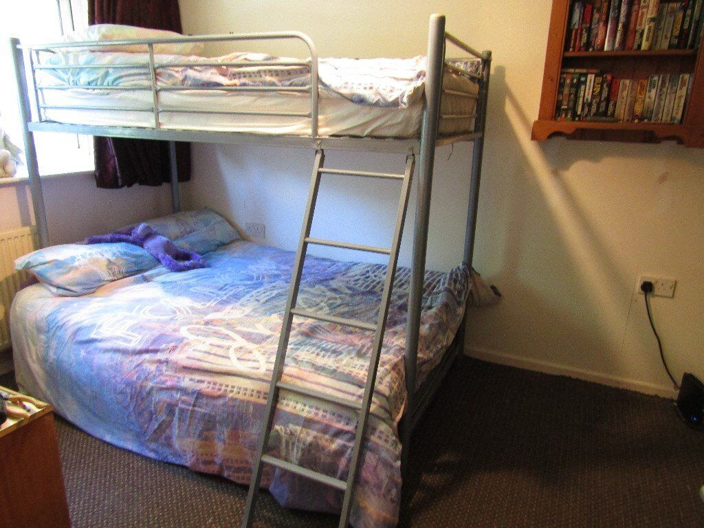 Triple Bunk Beds With 3ft Above And 4ft 6inch Below In Bournemouth