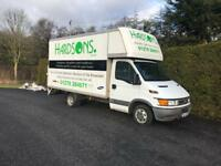 Iveco daily Luton box van with tailift 2004 53 reg 2,8 diesel