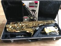 Windsor Alto Saxophone including the case.