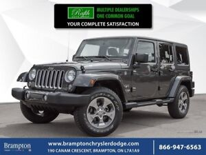 2018 Jeep Wrangler UNLIMITED SAHARA 4X4 | TRADE-IN |