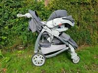 Graco Travel system pushchair 3 in 1