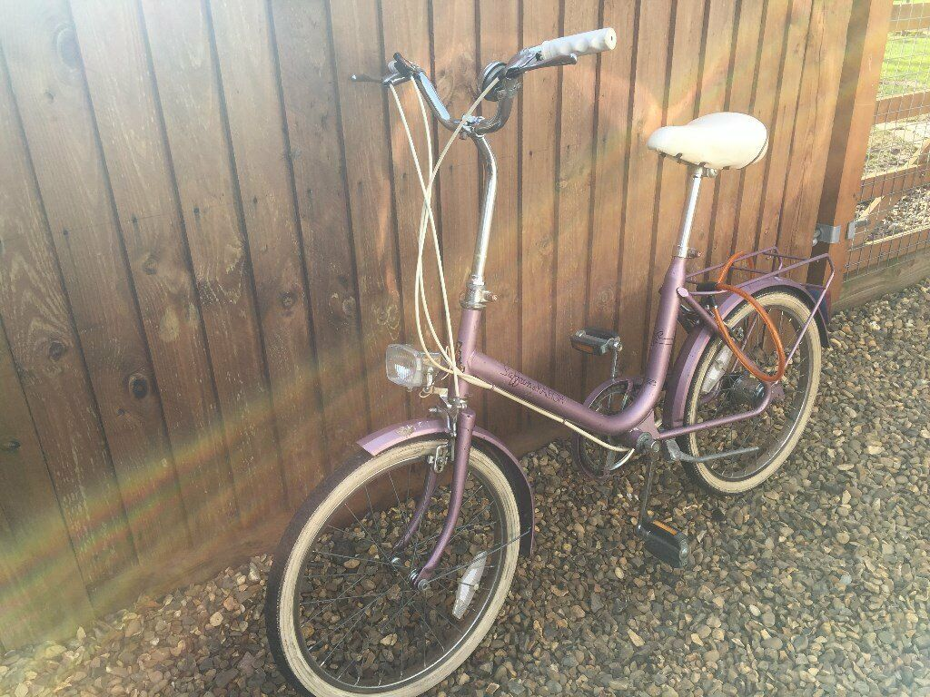 Vintage Raleigh Bicycle Excellent Condition 1 Owner From New, Free Delivery In Norwich