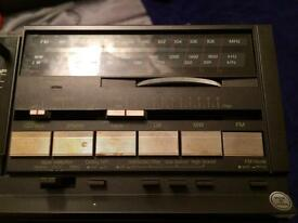 Technics Amp with Tuner and Cassette. Amplifier