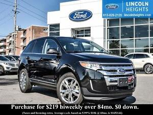 2014 Ford Edge LIMITED AWD-LEATHER HEATED SEATS-POWER LIFT GATE-