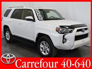 2014 Toyota 4Runner SR5 V6 4x4 Cuir+Navigation+Toit Ouvrant 7 Pa