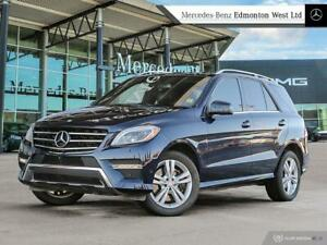 2015 Mercedes Benz ML400 4MATIC