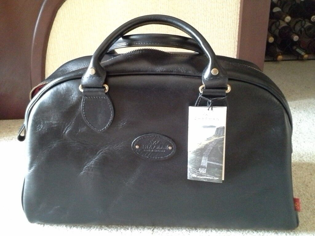 Luxury leather men s Reiver 18 Holdall (black)   in Costessey ... e7128b917c