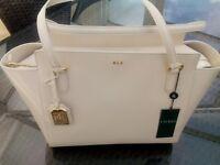 Ladies Ralf Lauren Leather Handbag
