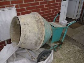 Barrowmix 240v Electric Cement Mixer