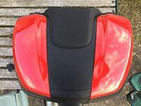 Ducati Givi Top box with mounting hardware