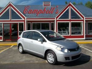 2012 Nissan Versa SUNROOF!! 5SPD GAS SAVER!! AIR!! POWER WINDOWS