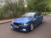 1998 BMW 323I CONVERTIBLE FULL M3 ESTORIL BLUE