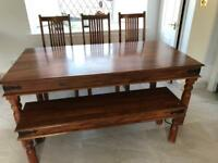 Second hand Maharani 6 Seater Dining Table