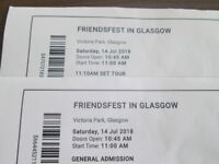 Friendsfest Ticket and Tour - 14 July