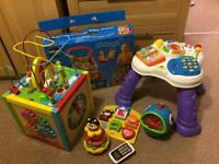 First Steps Baby Walker(brand new)+ toys..
