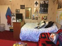 Double room available immediately, 5 minute walk from RGU. Rent only £410 including bills