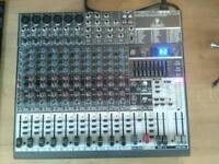 Behringer xenyx 1832 with fx