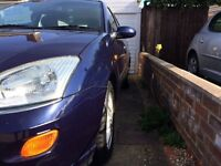 FORD FOCUS GHIA STATE £1000 ONLY 94.386miles, taxed and mot'd
