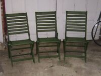 chairs - folding garden chairs
