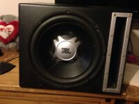 Jbl sub subwofer car audio 12 inch