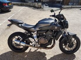 Very tidy Yamaha MT07 for sale