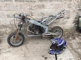 Midi moto parts 49cc not mini moto scooter