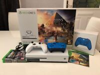Xbox One S 500GB | Assassins Creed Origins | COD WW2 | 2 Controllers