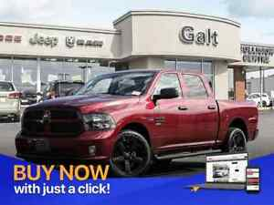 2019 Ram 1500 Classic EXPRESS BLACKOUT CREW 4X4 | UCONNECT HITCH