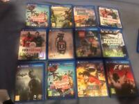 Ps vita games and extras